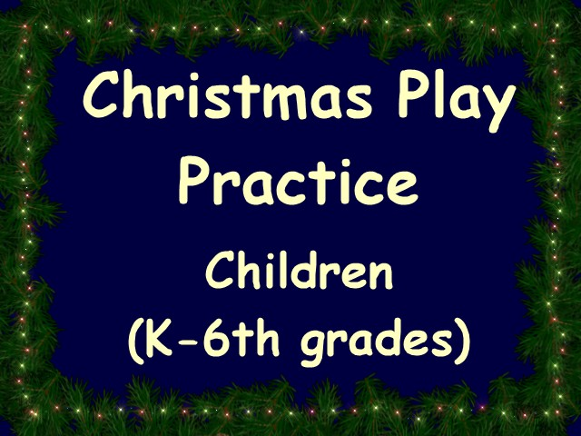 Children's Play Practice